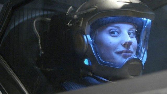 Katee Sackhoff in Battlestar Galactica
