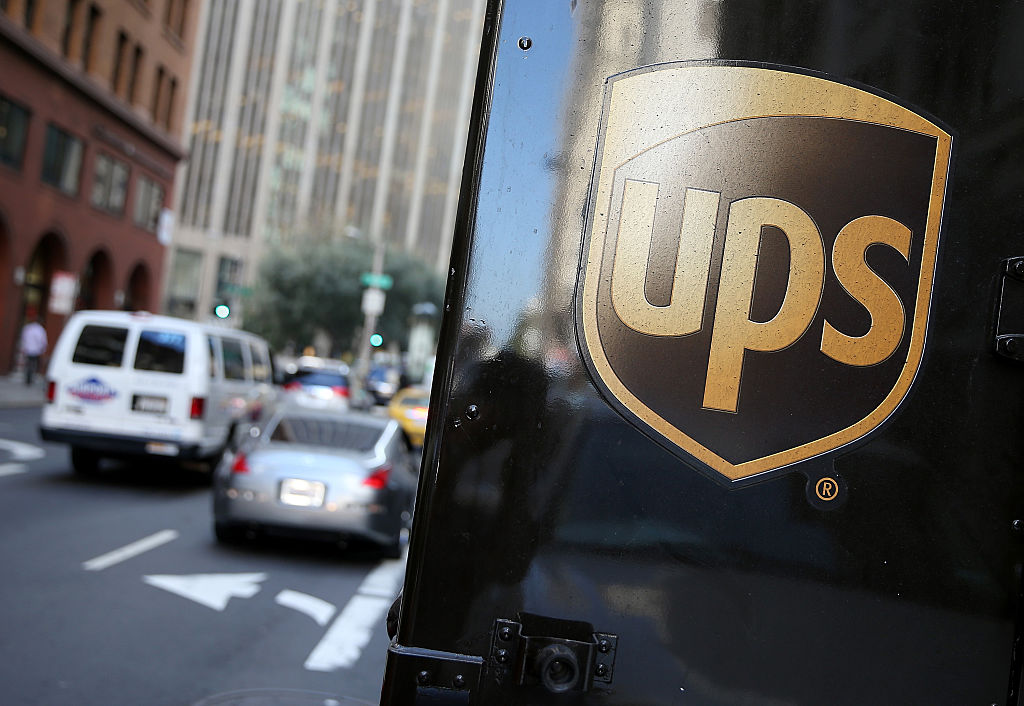 The Package Delivery Company Did Recently Freeze Pensions Justin Sullivan Getty Images