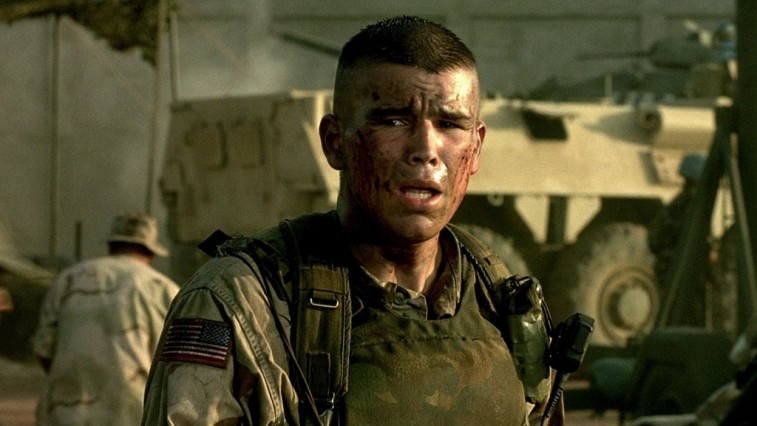 Joshua Hartnett plays a soldier in Black Hawk Down