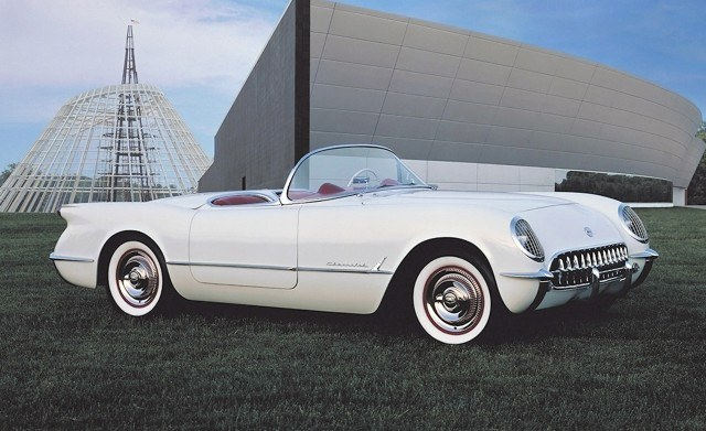After crowds thronged the Corvette concept roadster at the 1953 GM Motorama, Chevrolet put the fiberglass-bodied two-seater into production ASAP Ð and thus began the saga of America's Sports Car.