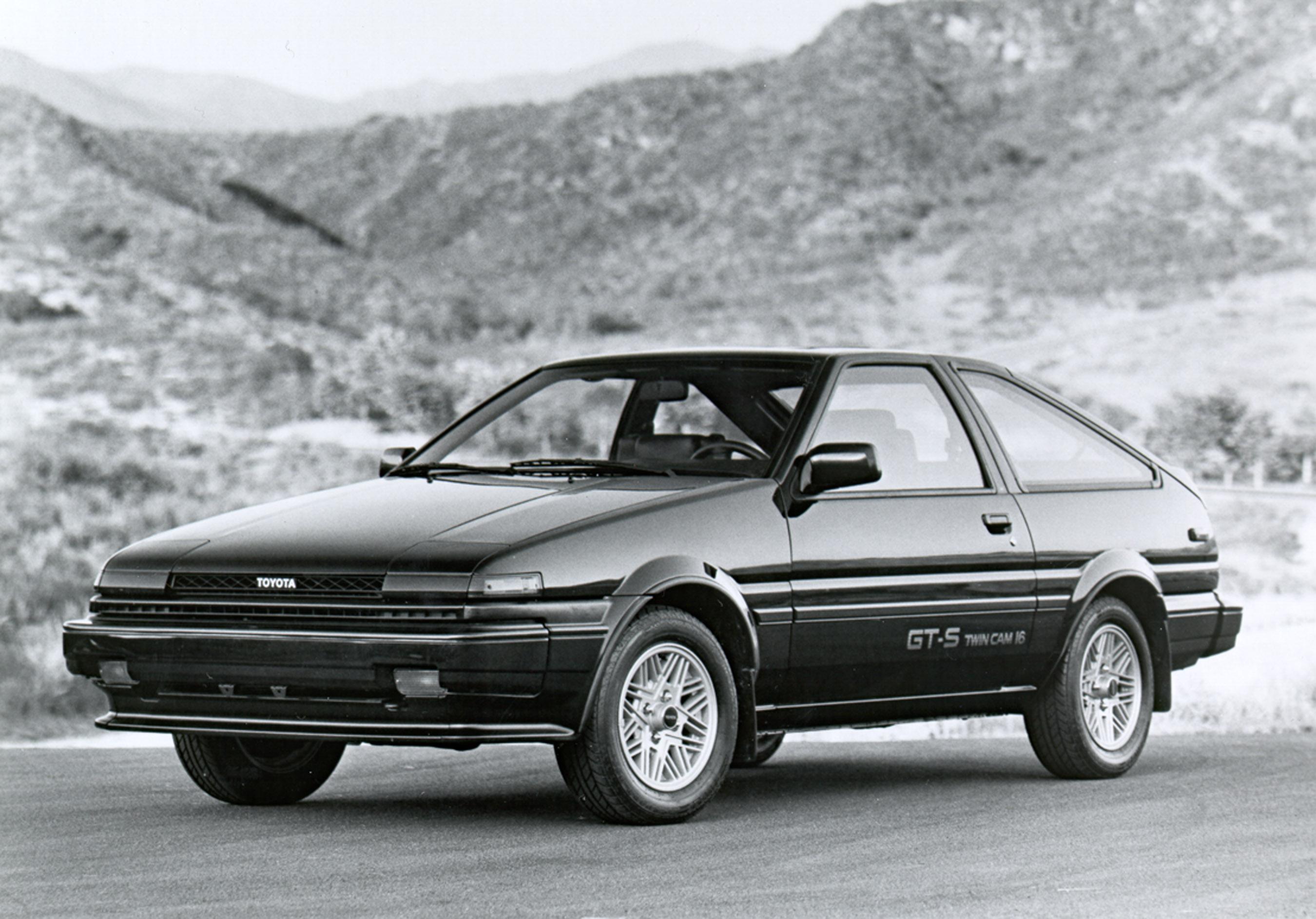 1986 Toyota Corolla GT-S Liftback