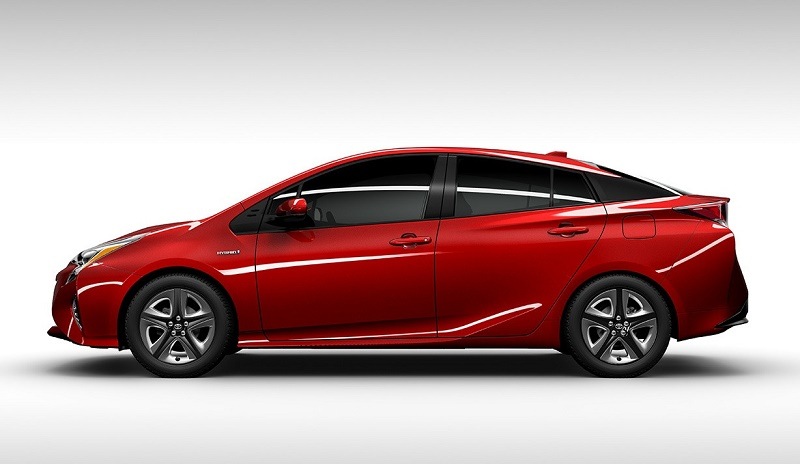 2016 Prius red