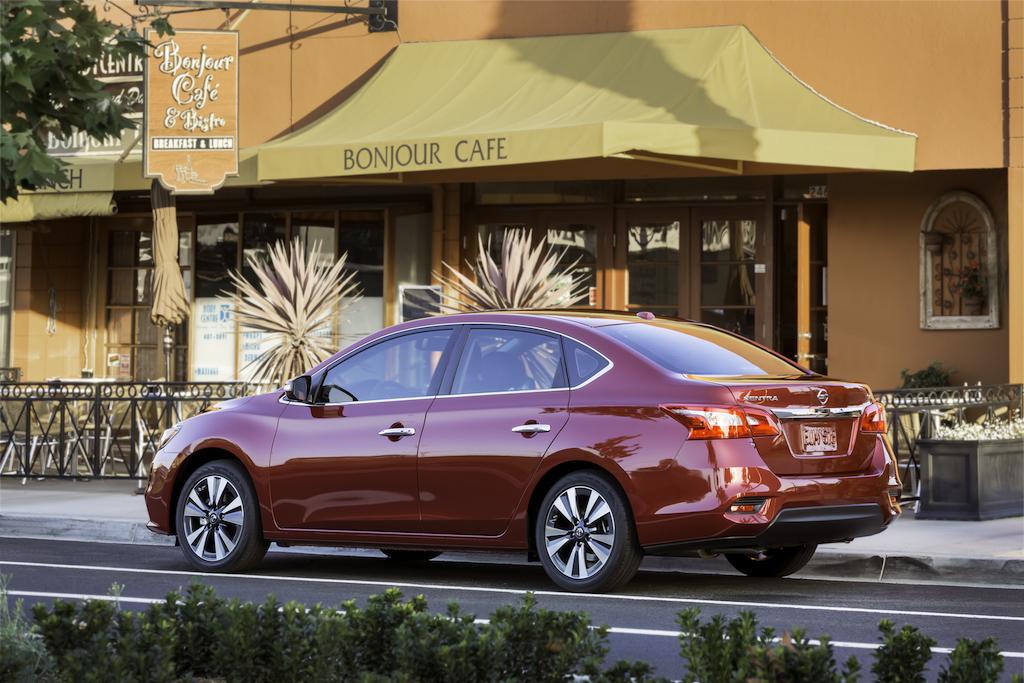 Nissan Sentra 2017 debuta en el Auto Show de Los Ángeles