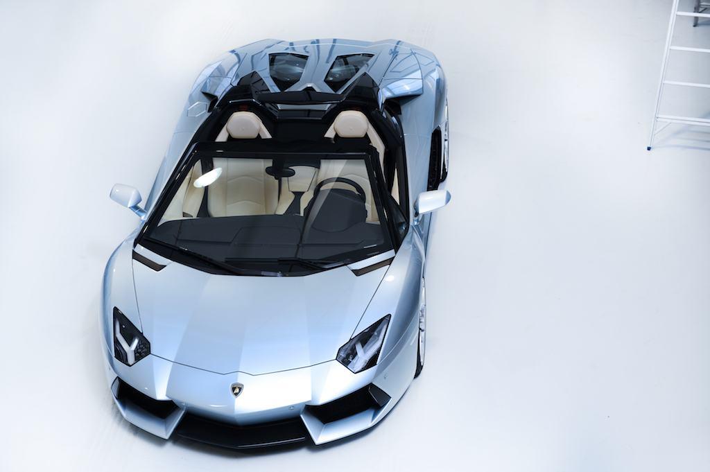 2012 Lamborghini Aventador LP700-4 Roadster