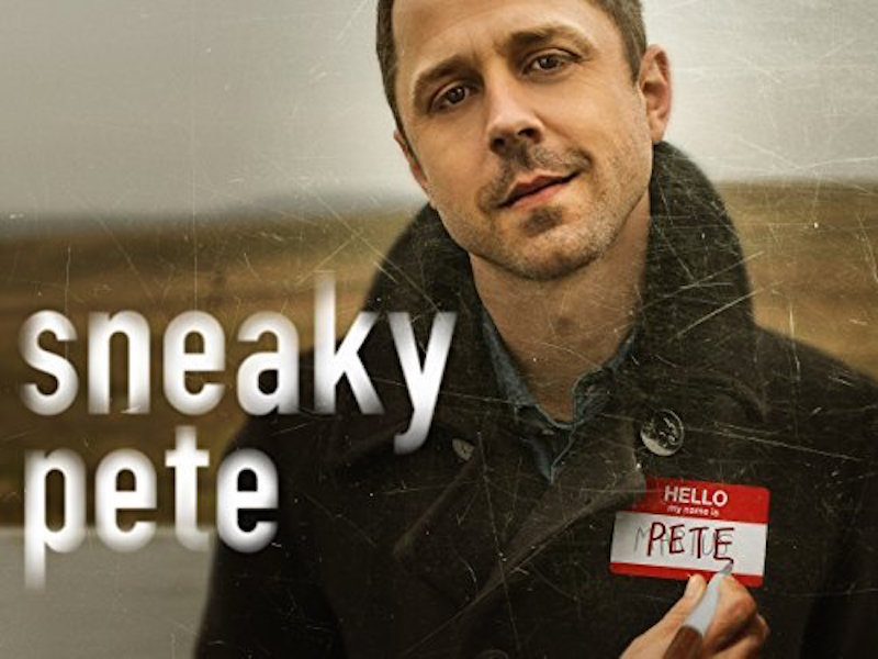 Giovanni Ribsi poses in a promotional poster for Amazon's Sneaky Pete