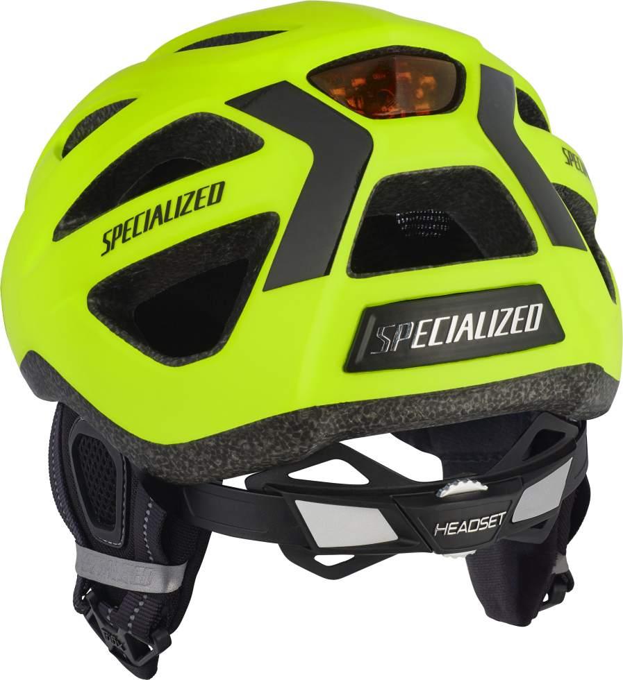 Specialized Centro Winter LED helmet