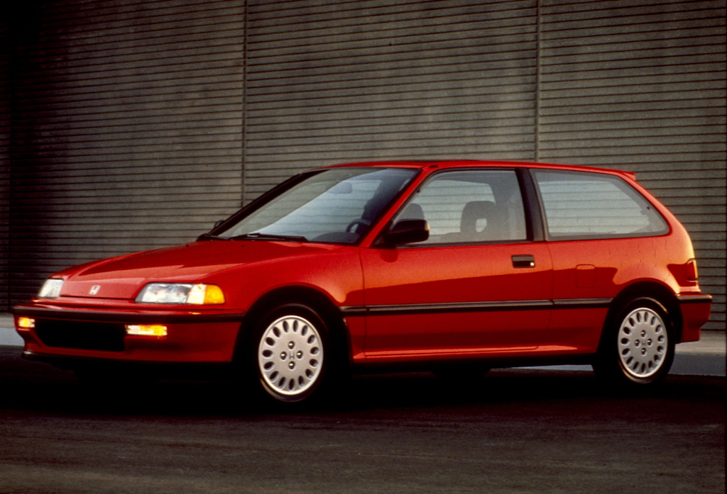 1990 Honda Civic 3-door Si.