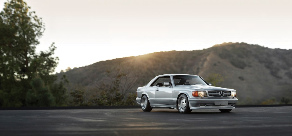 Mercedes 560 sec amg the next 80 s blue chip collectible for Mercedes benz 80s