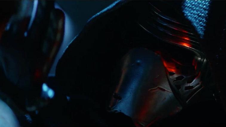 Adam Driver in 'Star Wars: The Force Awakens'