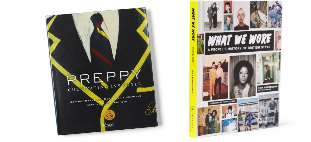 Books on classic style as stocking stuffers