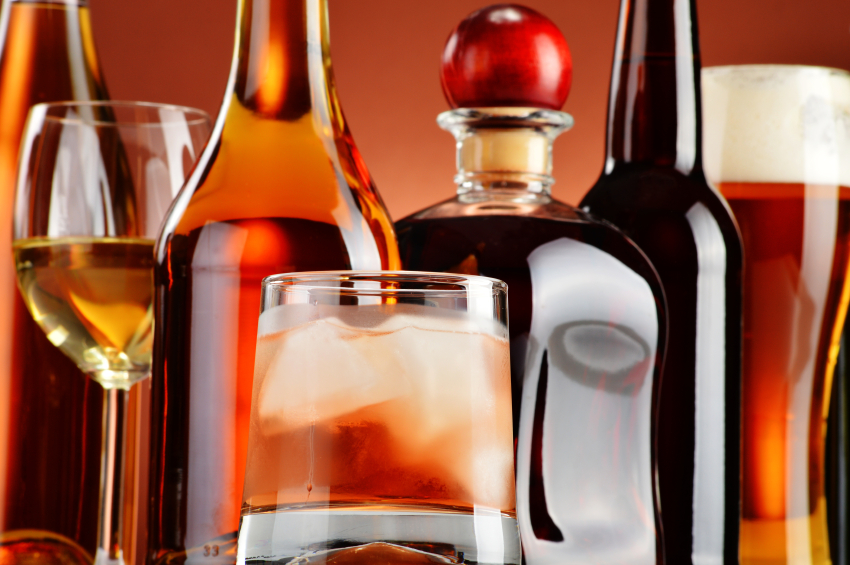 Beer, Wine, and Liquor: Which Have the Least (and Most