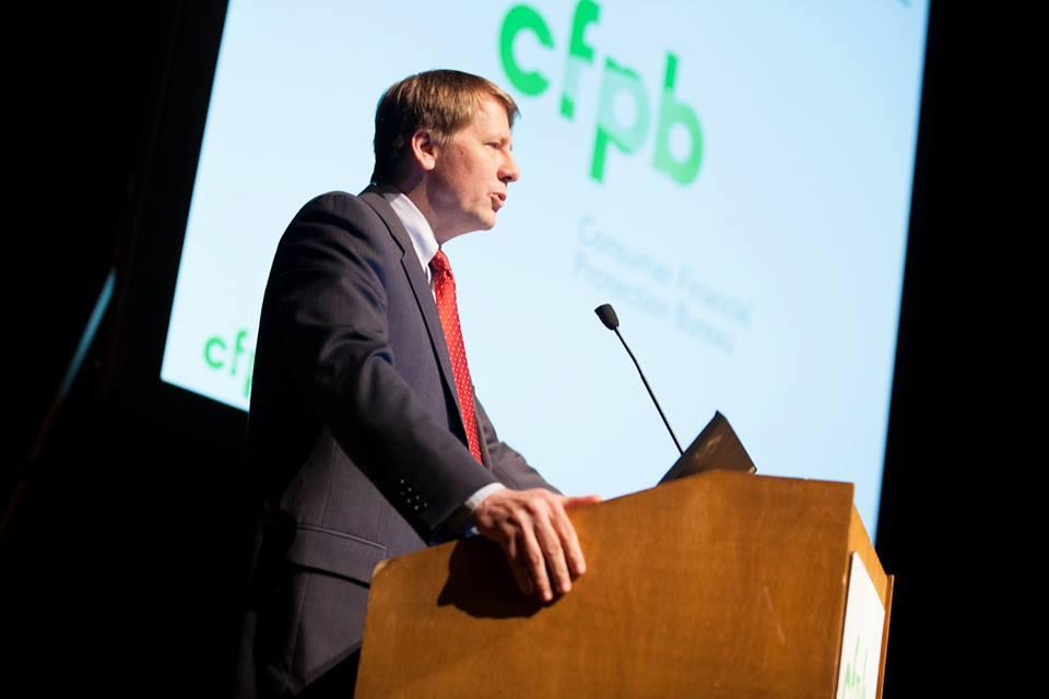 Richard Cordray, Consumer Financial Protection Bureau