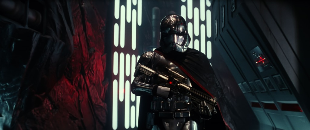 Gwendoline Christie as Captain Phasma in The Force Awakens