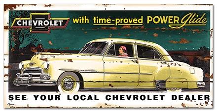 Vintage Chevrolet sign