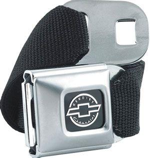 Vintage Bowtie seatbelt buckle belt