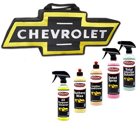Chevy car cleaning kit