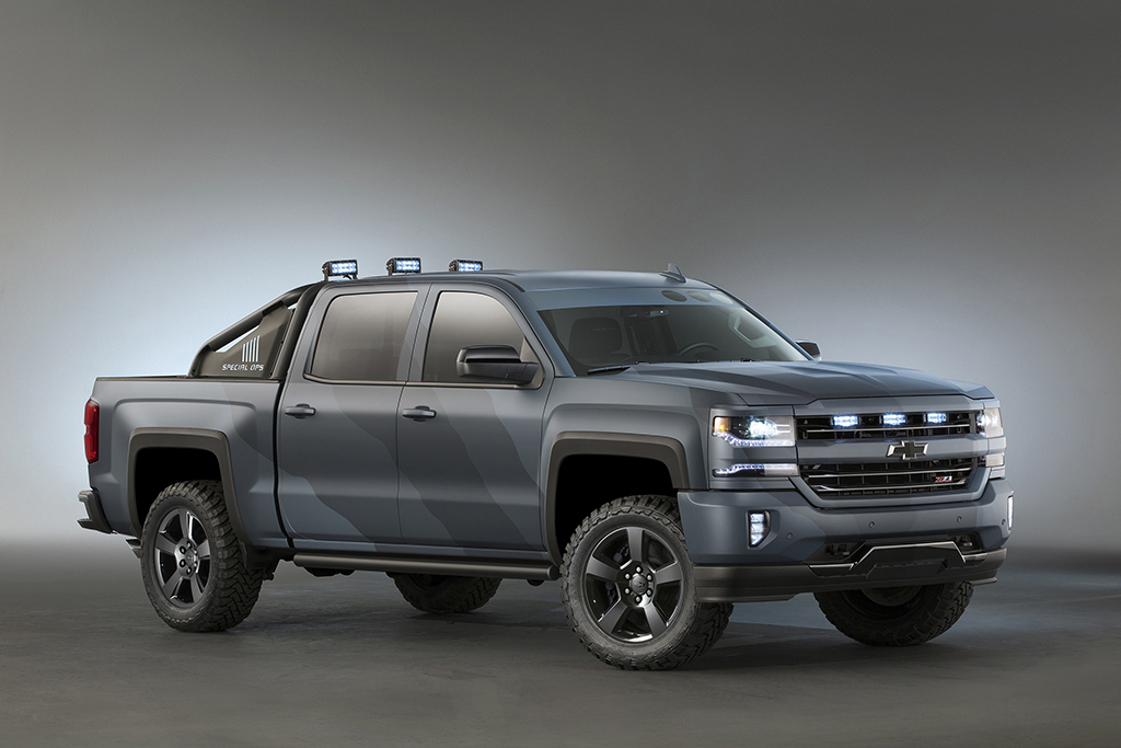 Chevrolet Goes All Out Navy With A Special Edition Silverado