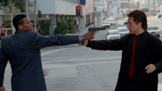 Jackie Chan and Chris Tucker in 'Rush Hour'.