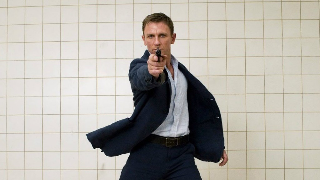 Daniel Craig in 'Casino Royale'