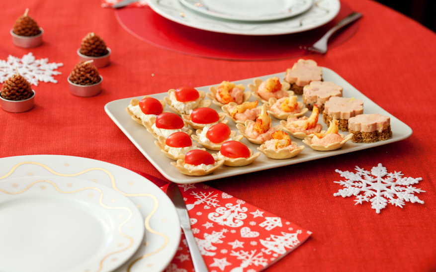 holiday appetizers, party