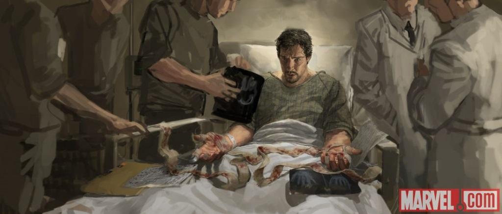 Doctor Strange illustration.
