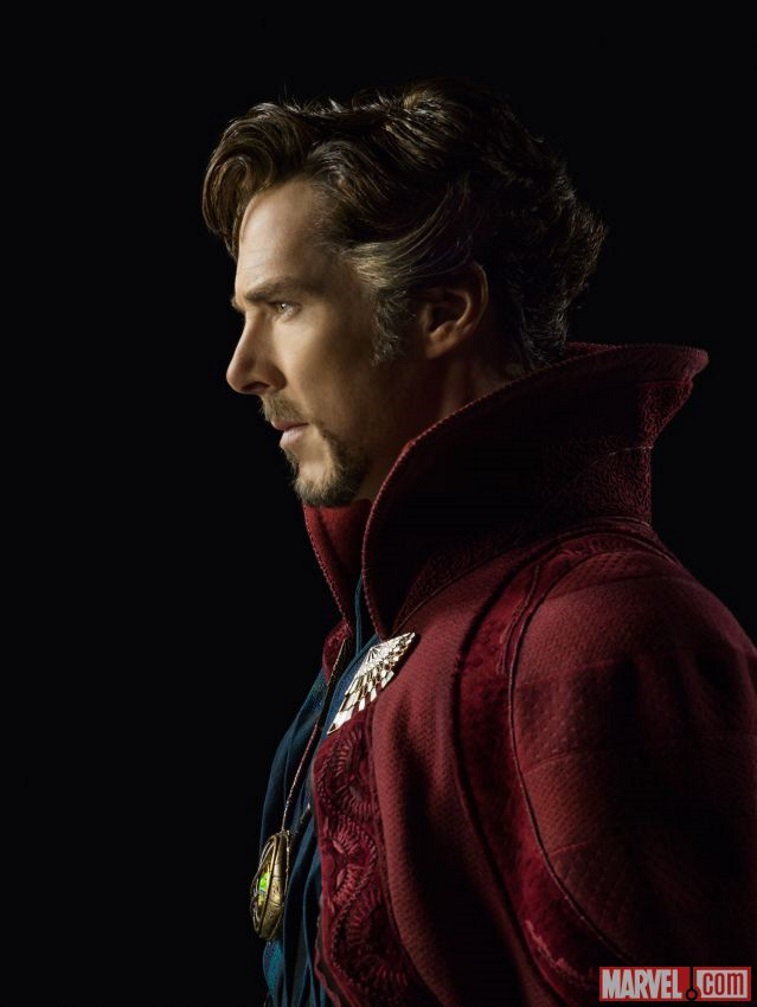 Benedict Cumberbatch as he appears in Doctor Strange.