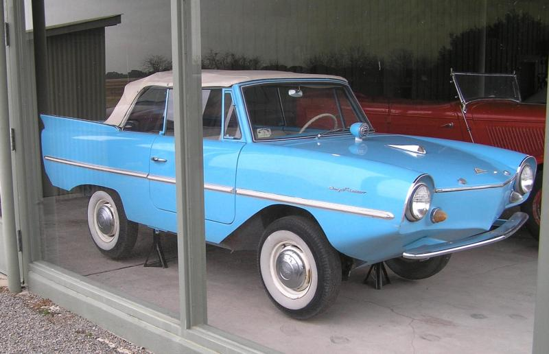 Lyndon B. Johnson's Amphicar. Source: National Park Service