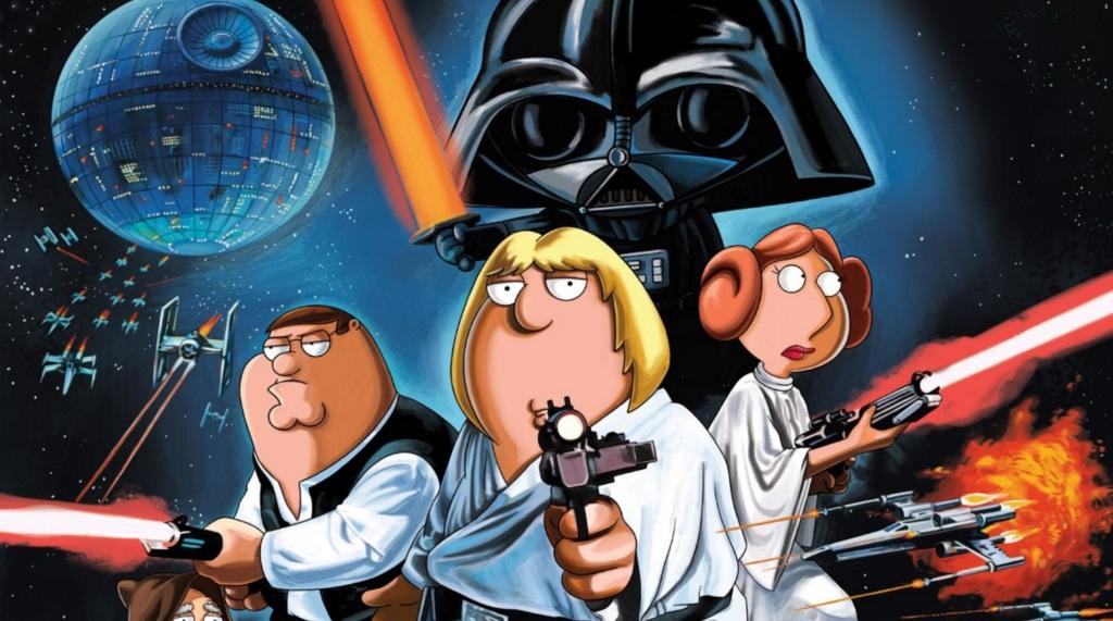 Family Guy Blue Harvest Star Wars