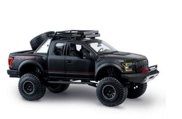 Ford Raptor diecast model