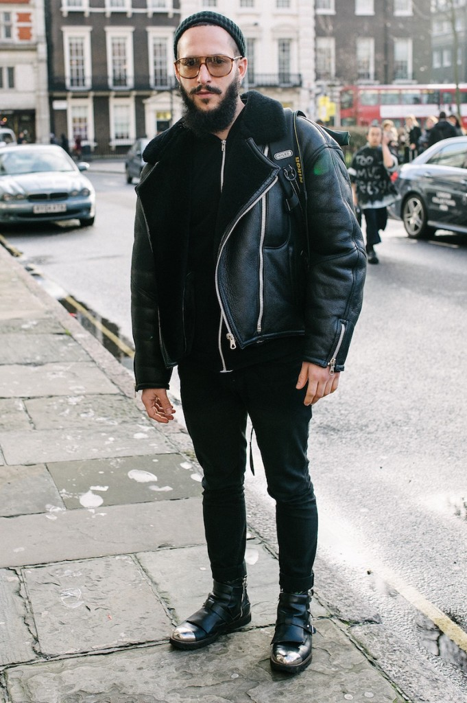 How to Wear Your Favorite Leather Jacket This Winter