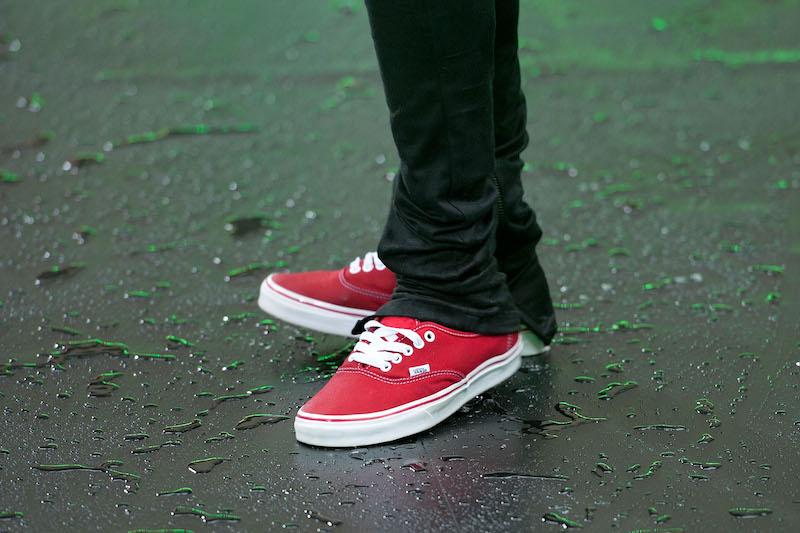 Justin Bieber, shoes
