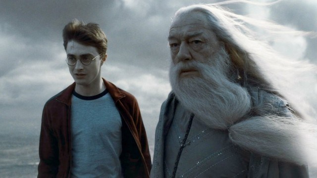 Harry and Dumbledore