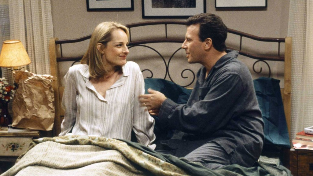 Helen Hunt and Paul Reiser in 'Mad About You'