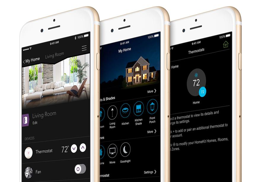 HomeKit devices on iPhone