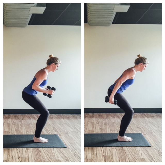 Burn Calories With 5 Yoga Moves Using Weights