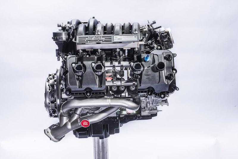 The All-New Ford 5.2-liter V8