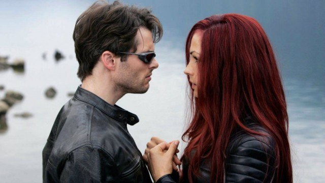 James Marsden and Famke Janssen in 'X-Men: The Last Stand'