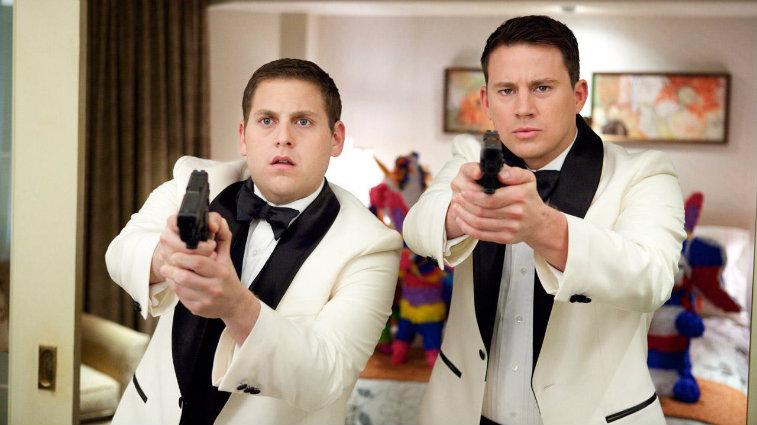 Jonah Hill and Channing Tatum in '21 Jump Street'