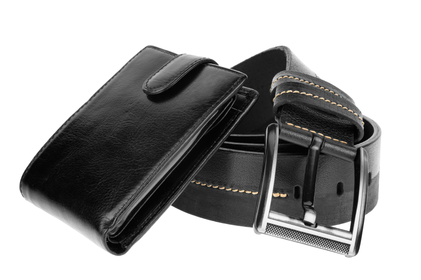 wallet and belt