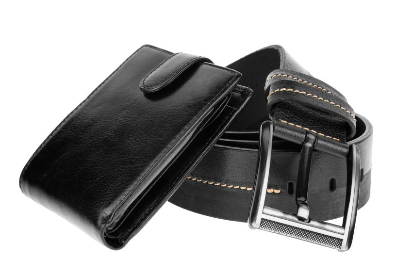 wallet and belt