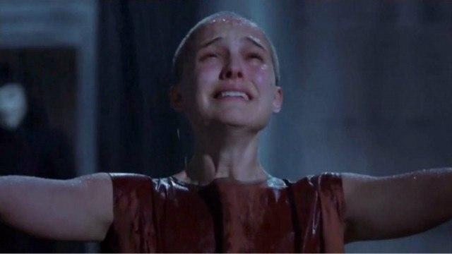 Natalie Portman in 'V for Vendetta'
