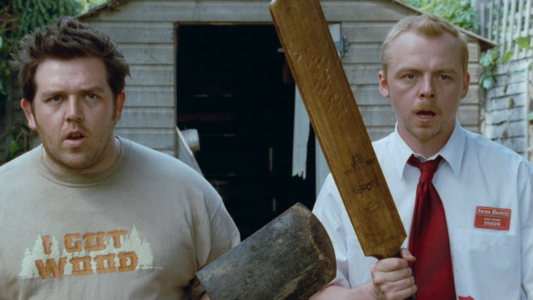 Nick Frost and Simon Pegg in 'Shaun of the Dead'