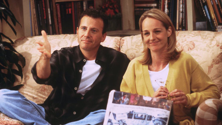 Paul Reiser and Helen Hunt in 'Mad About You'