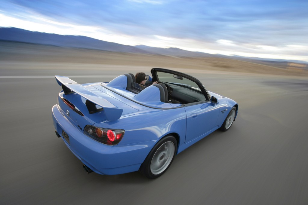 Honda S2000 CR | Source: Honda