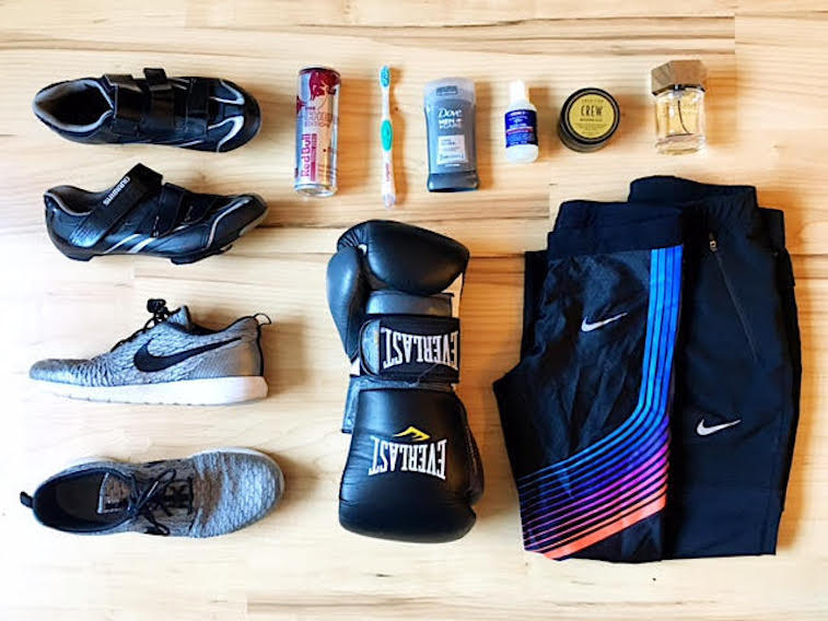 Seth Maynard gym bag