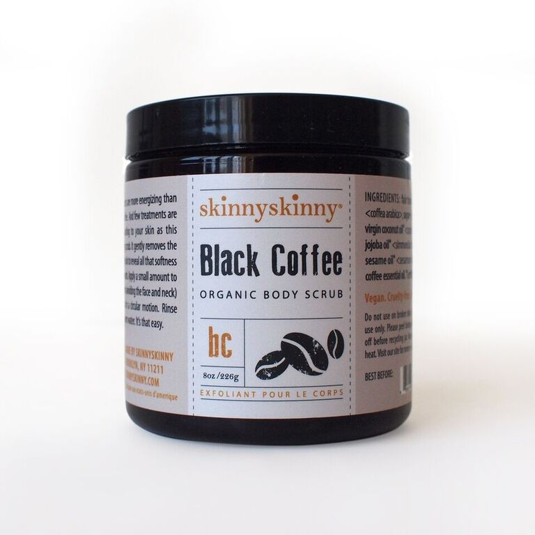 SkinnySkinny black coffee scrub