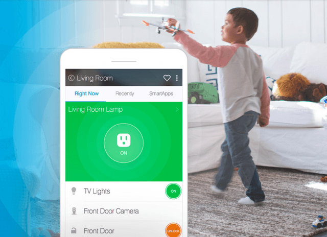 SmartThings smart home hub