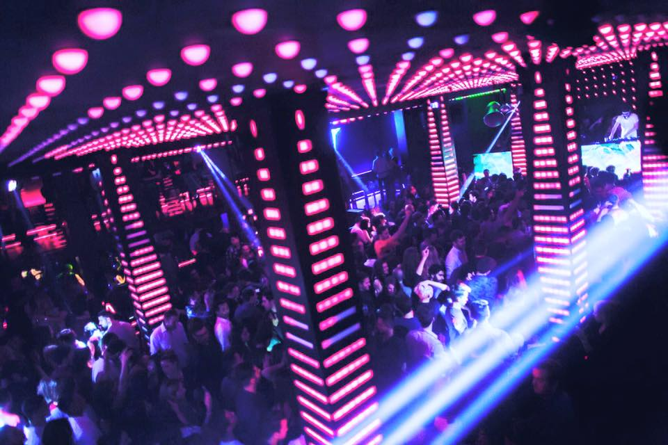 Temple, nightclub