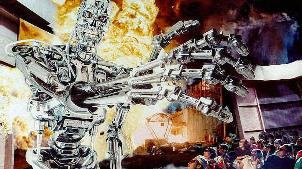 Terminator 2 3D Battle Across Time