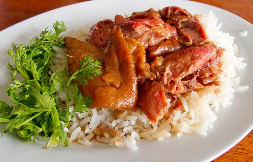 slow cooked thai pork